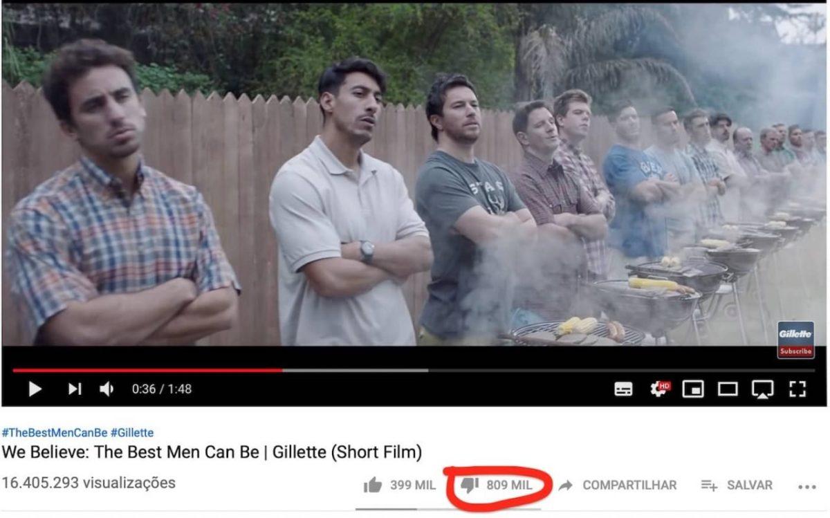 Novo comercial da Gillette retrata masculinidade frágil e tóxica