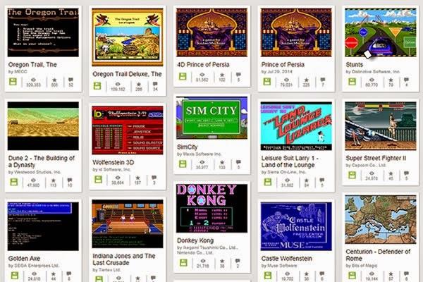 Archive org disponibiliza jogos gratis dos anos 80 e 90 do MS DOS para jogar online