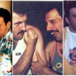 Freddie Mercury: fotos com o namorado antes de sua morte