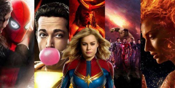 Próximos filmes de super heróis que vão estrear em 2019