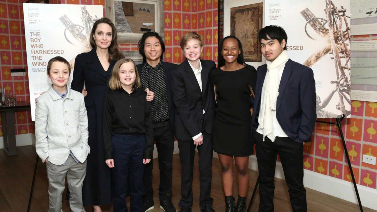 Curiosidades sobre Angelina Jolie filhos