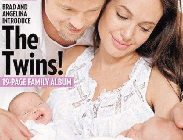 Curiosidades sobre Angelina Jolie fotos dos filhos gêmeos