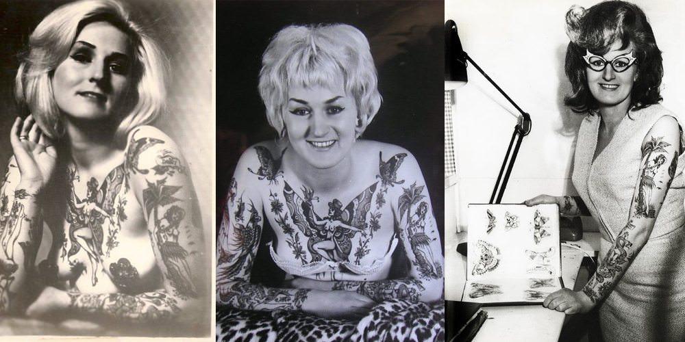 Cindy Ray uma das primeiras tatuadoras da história