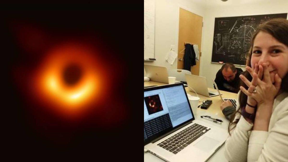 Katie Bouman a cientista responsável pela imagem do buraco negro 5