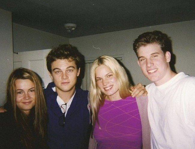 Pessoas que conheciam celebridades antes da fama Leo