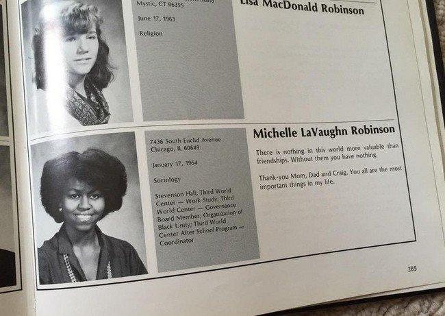 Pessoas que conheciam celebridades antes da fama - Obama