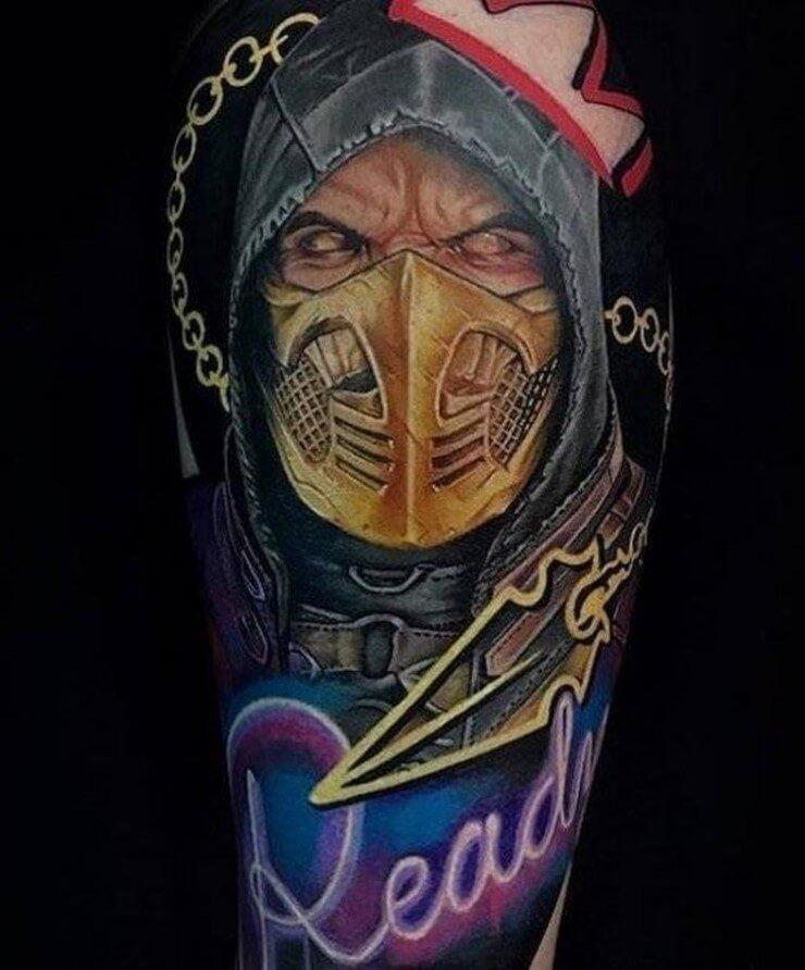 Tatuagens obras de arte do mundo moderno 18