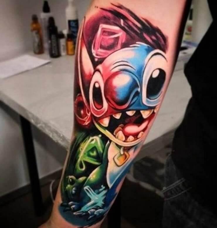 Tatuagens obras de arte do mundo moderno 3