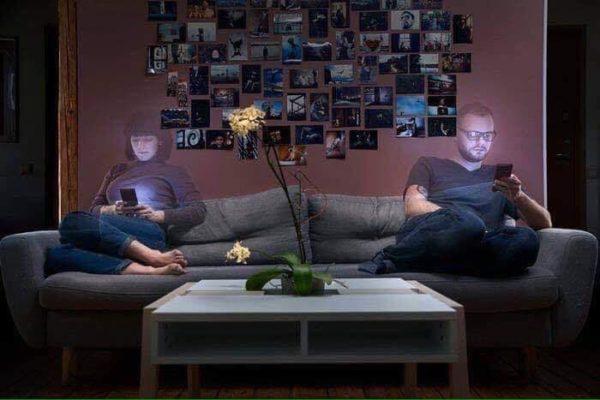 Vício em celular: imagens simbolizam um pouco dessa realidade