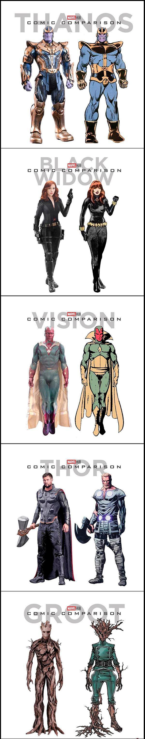 Vingadores Nos Quadrinhos x Nas Telas 1