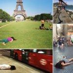 viajante posta fotos morrendo em pontos turisticos pelo mundo