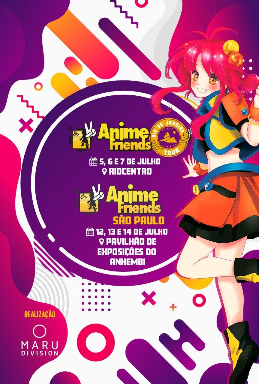 Anime Friends Chega ao Rio de Janeiro
