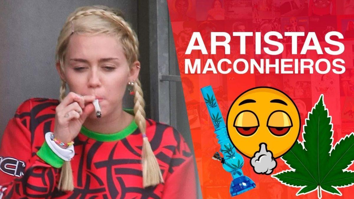 Confira 10 artistas que fumam maconha