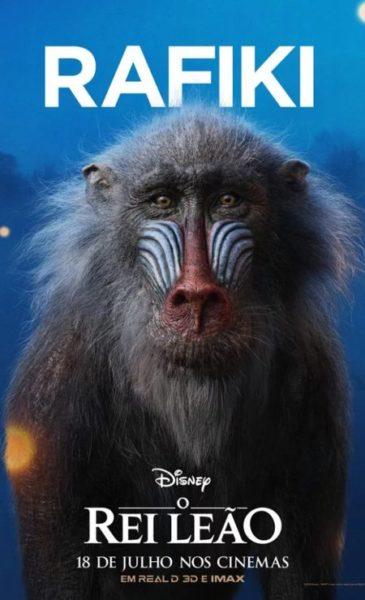 Live-Action: Disney divulga pôsteres de O Rei Leão