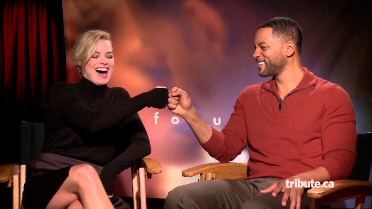 Margot Robbie will smith