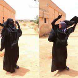 Cenas registram o momento em que mulher é libertada do Estado Islâmico e pôde retirar o véu preto de seu rosto