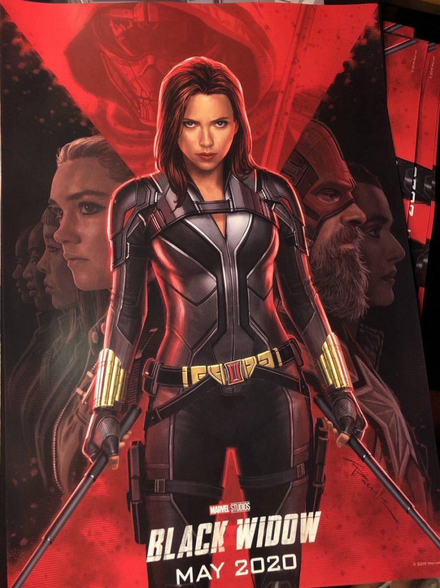 Confira o primeiro poster oficial de Viúva Negra