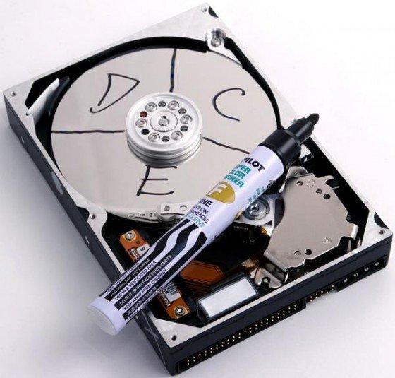 como particionar um disco rigido 1