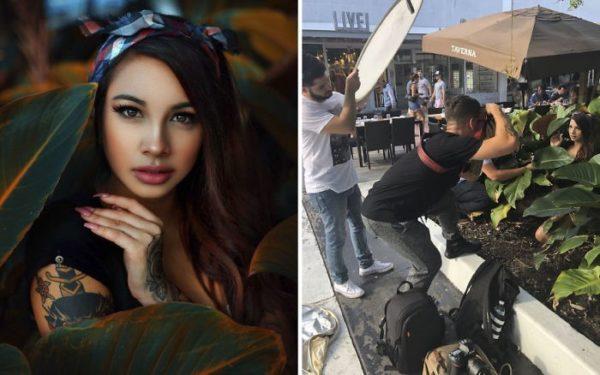 Fotógrafo revela bastidores por trás de uma bela foto