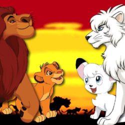 O Rei Leão, de 1994, é uma cópia descarada do desenho japonês Kimba, o Leão Branco, de 1965