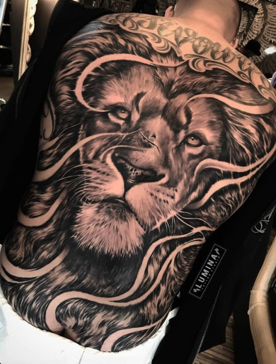 Tatuagem nas costas veja imagens que podem te inspirar 35