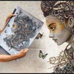 Christopher Lovell retrata criaturas e personagens obscuras em pinturas