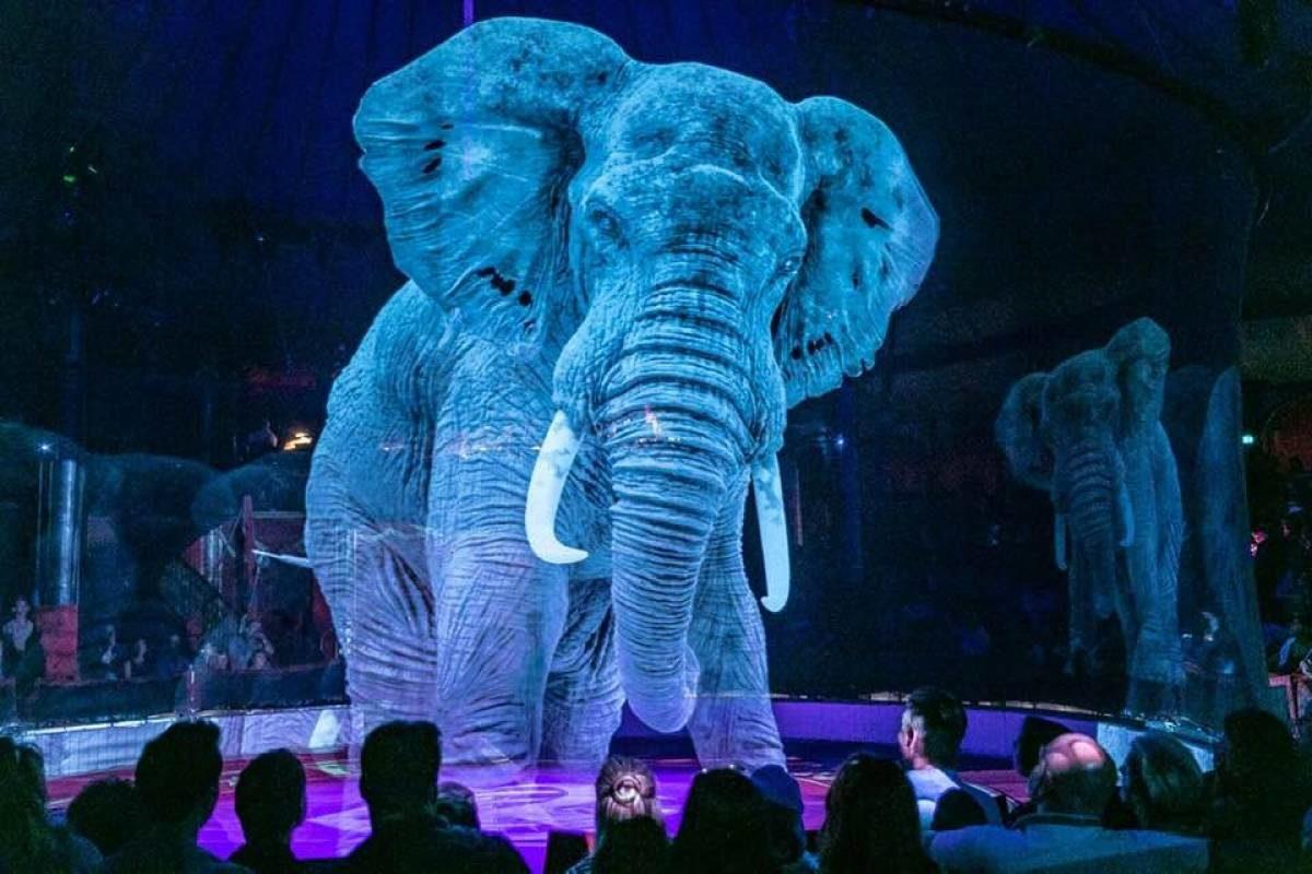 Circo alemão troca animais por hologramas em 3D 3