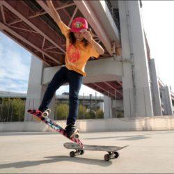 Com apenas 15 anos, japonês destrói no skate freestyle
