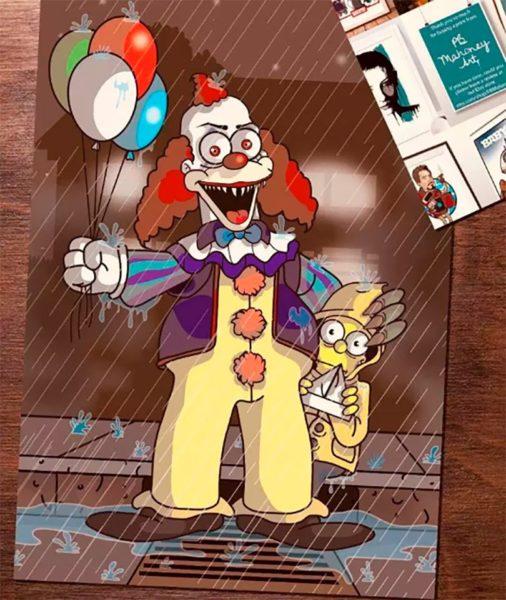 Essa versão horror de Os Simpsons vai deixar você de boca aberta