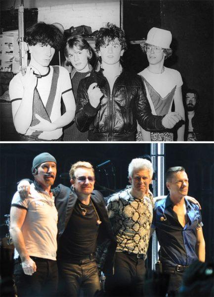 Aparência de alguns músicos: confira antes e depois de bandas famosas