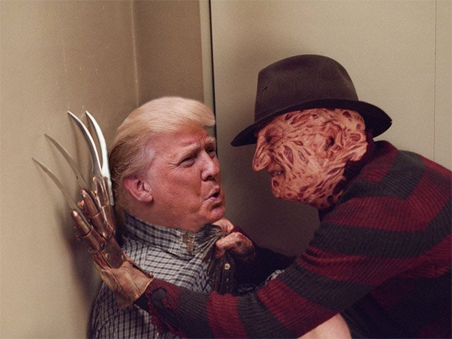 Donald Trump roubando papeis classicos da cultura pop movies12