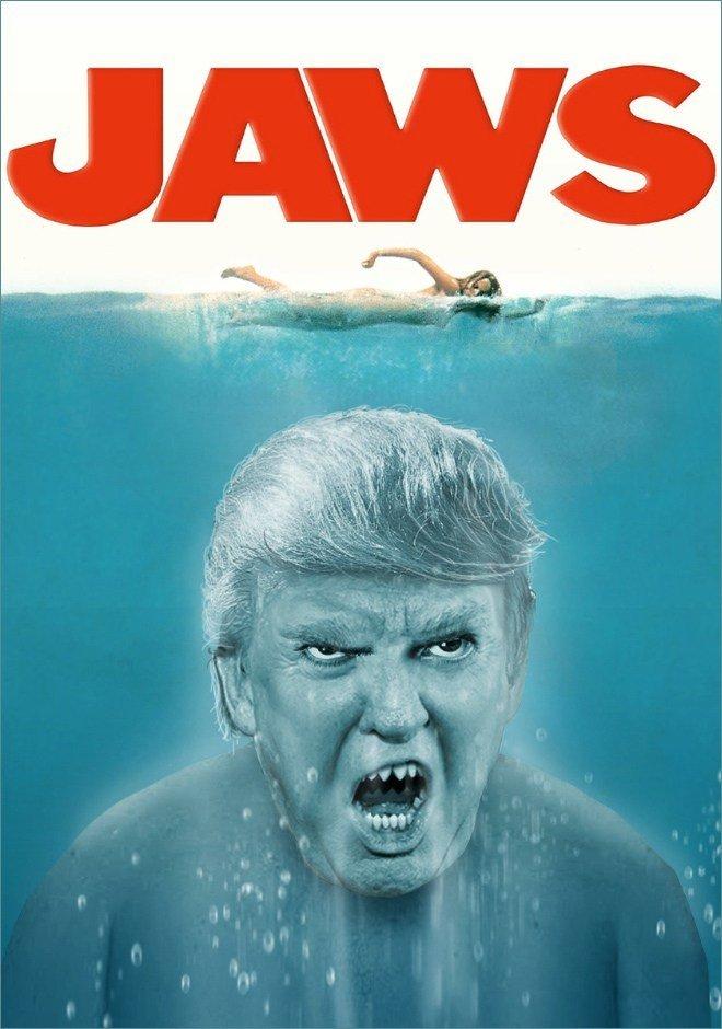 Donald Trump roubando papeis classicos da cultura pop movies15