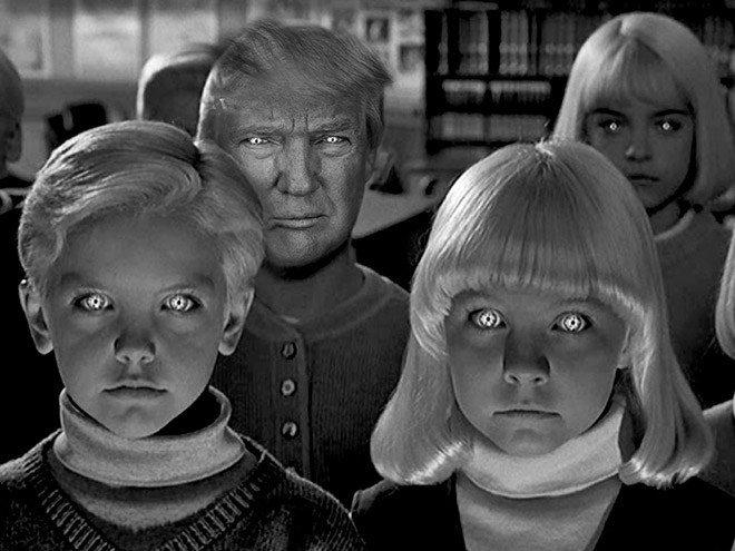 Donald Trump roubando papeis classicos da cultura pop movies19