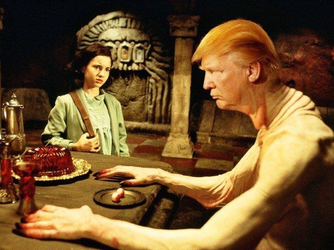 Donald Trump roubando papeis classicos da cultura pop movies7