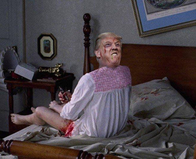 Donald Trump roubando papeis classicos da cultura pop movies8