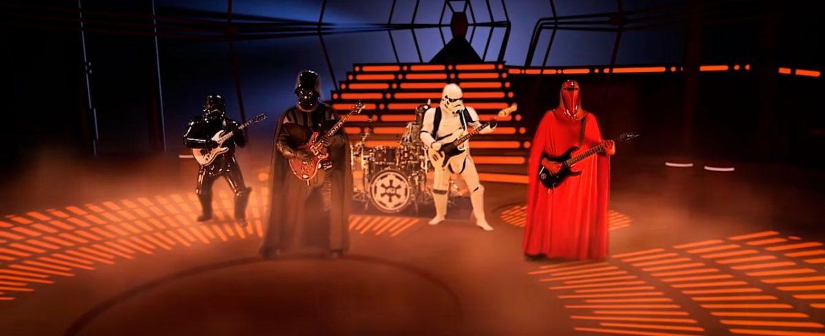 Marcha Imperial versão black metal releitura da música de Star Wars