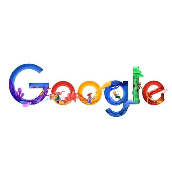 Releitura de logotipos de empresas reconhecidas mundialmente