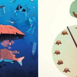 Steffen Kraft e suas ilustrações mostrando os problemas da sociedade