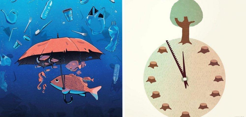Steffen Kraft e suas ilustracoes mostrando os problemas da sociedade1