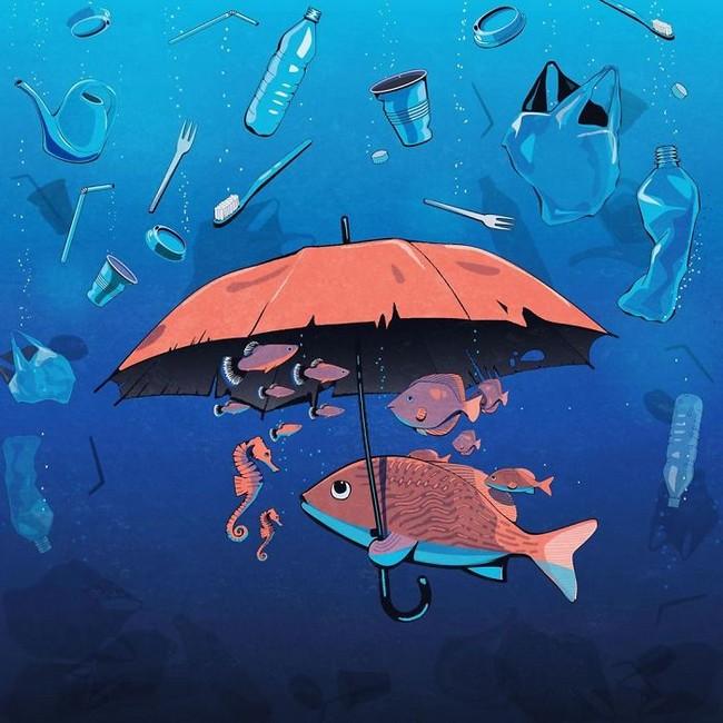 Steffen Kraft e suas ilustracoes mostrando os problemas da sociedade10