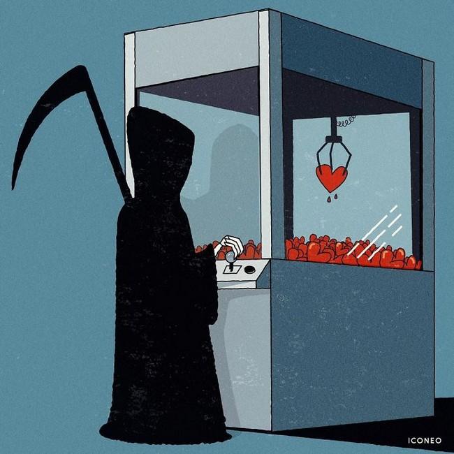 Steffen Kraft e suas ilustracoes mostrando os problemas da sociedade20