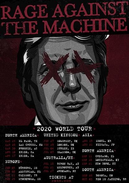Faith no More e Rage Against The Machine anunciam retorno aos palcos em 2020