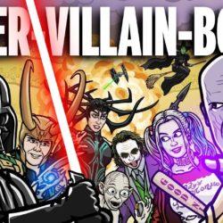 Super-Vilões guerreando entre si para descobrir quem é o Vilão Supremo