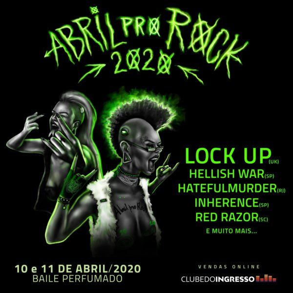 Programação do Abril pro Rock 2020 é marcada por bandas nacionais e luta feminista 2