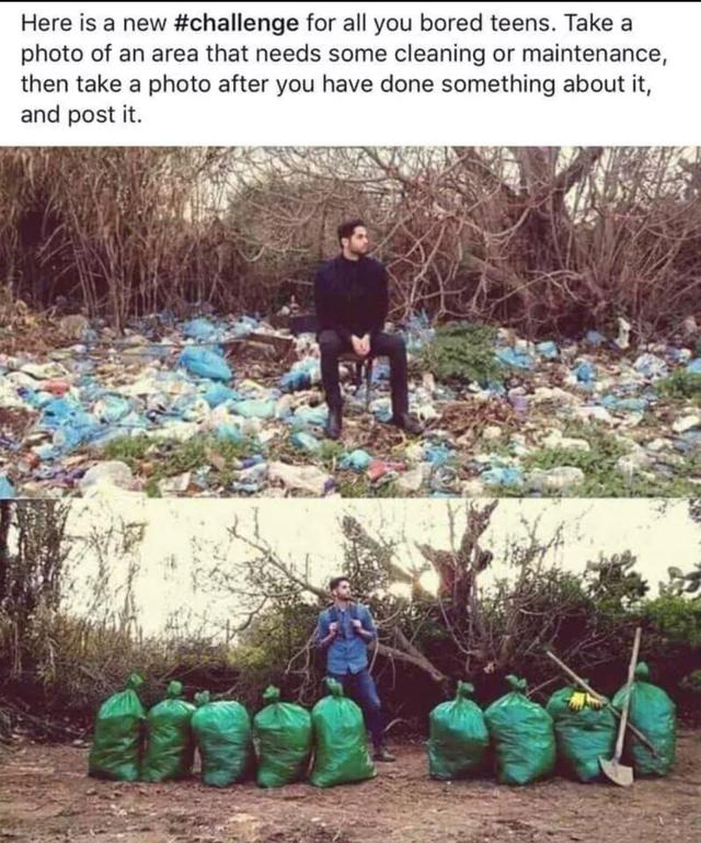 desafio do lixo 1