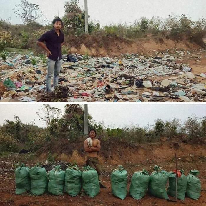 desafio do lixo 2