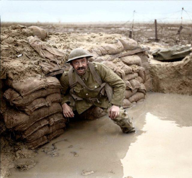 Fotos coloridas da Primeira Guerra Mundial 1