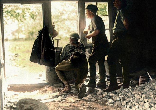 Fotos coloridas da Primeira Guerra Mundial 10