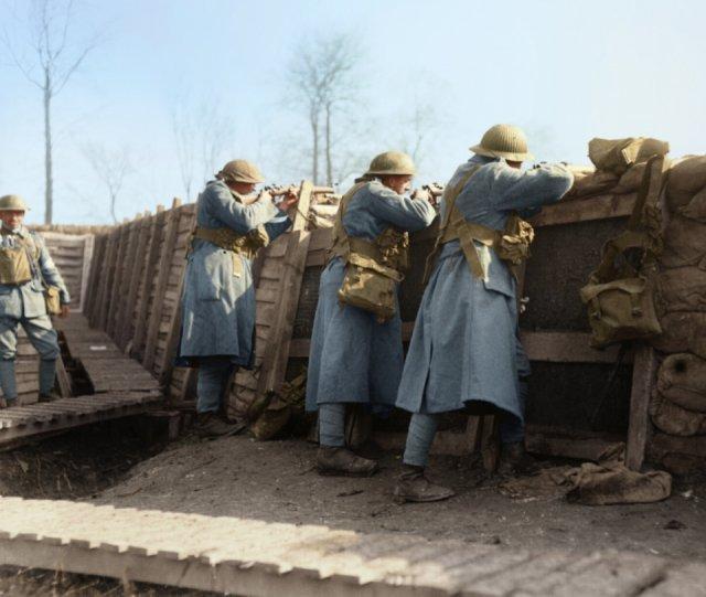 Fotos coloridas da Primeira Guerra Mundial 13