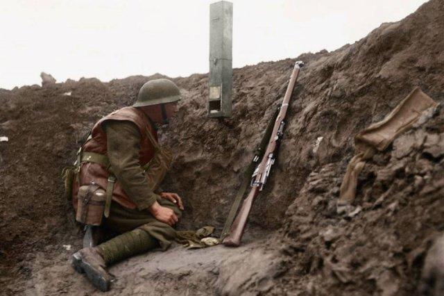 Fotos coloridas da Primeira Guerra Mundial 16